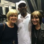 Sarah MacDonald, Jo Hage and Skepta
