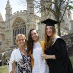 family graduation picture