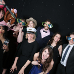 Sarah MacDonald and Jo Hage at Kent Business School Ball