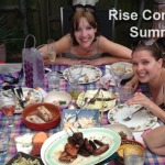 Rise Communications and friends bbq